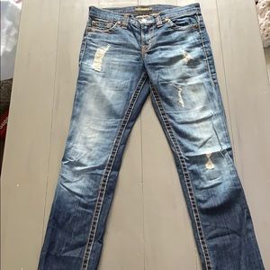 David Kahn distressed jeans. Size 26